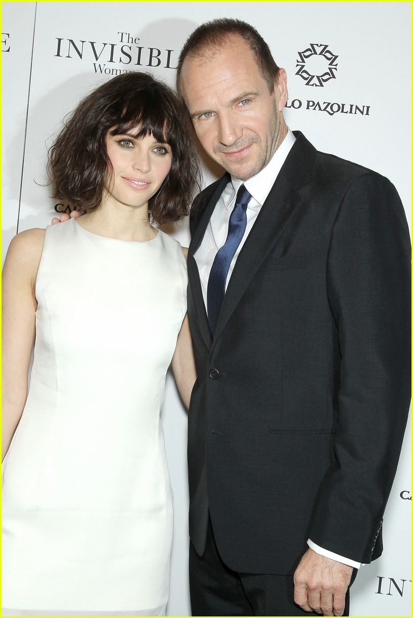 felicity jones ralph fiennes invisible woman nyc screening 02
