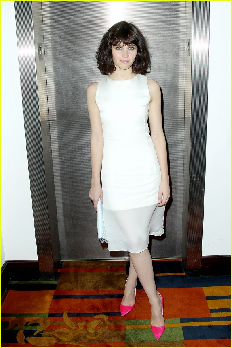 felicity jones ralph fiennes invisible woman nyc screening 063008803