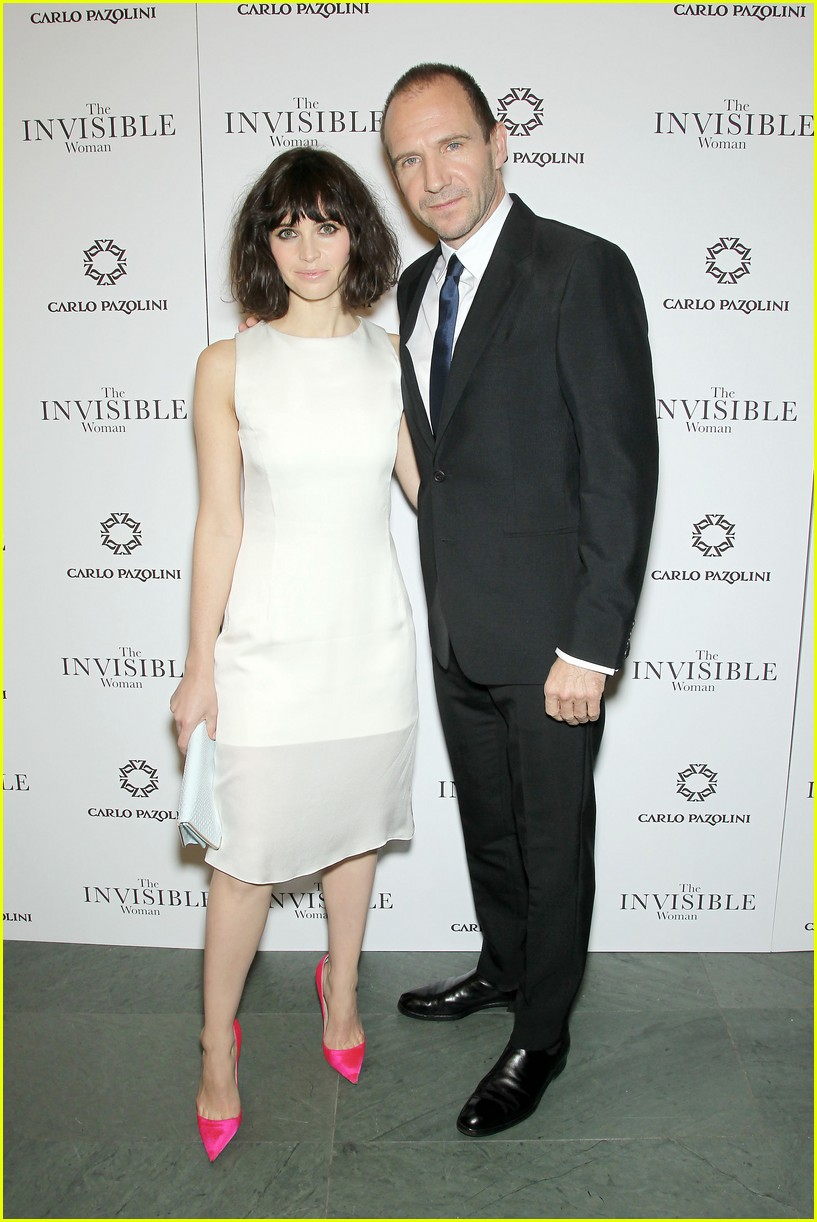 felicity jones ralph fiennes invisible woman nyc screening 07