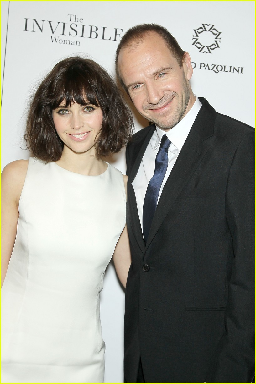 felicity jones ralph fiennes invisible woman nyc screening 093008806