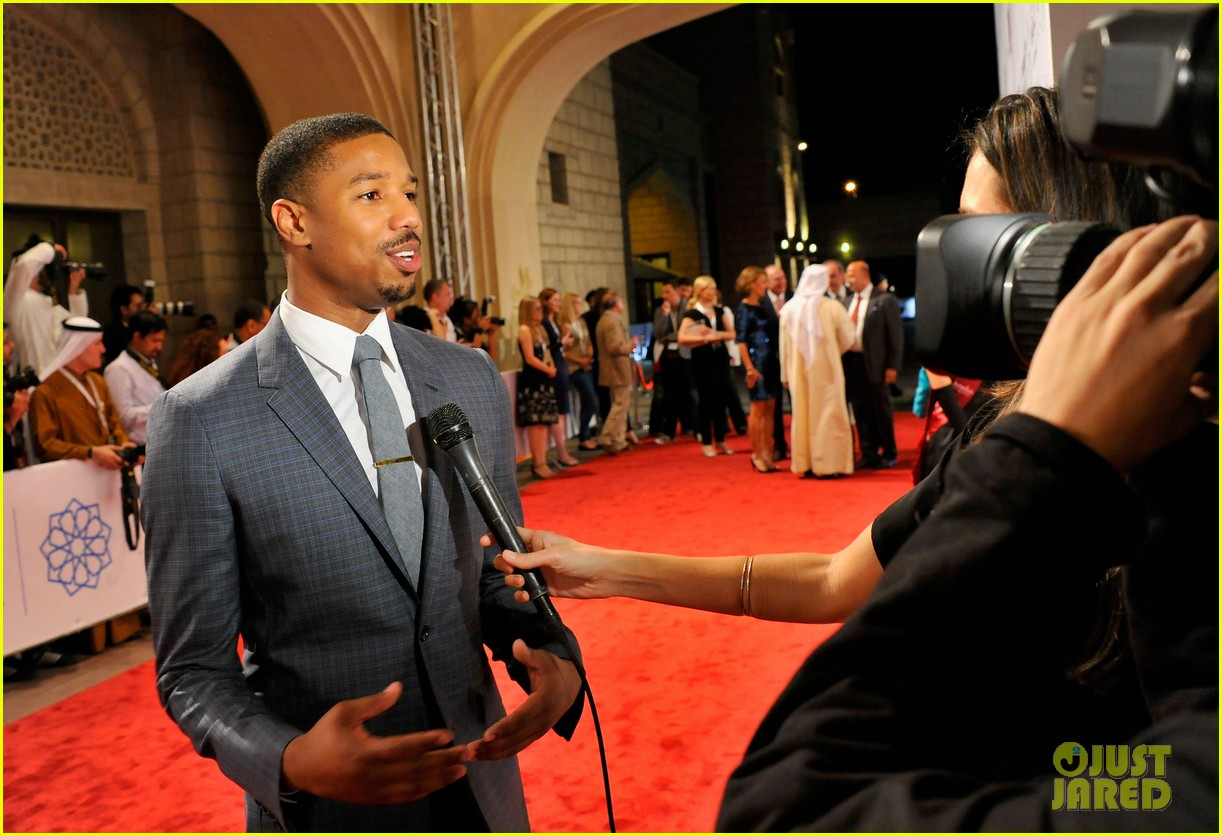 michael b jordan fruitvale station dubai film festival premiere 123009119