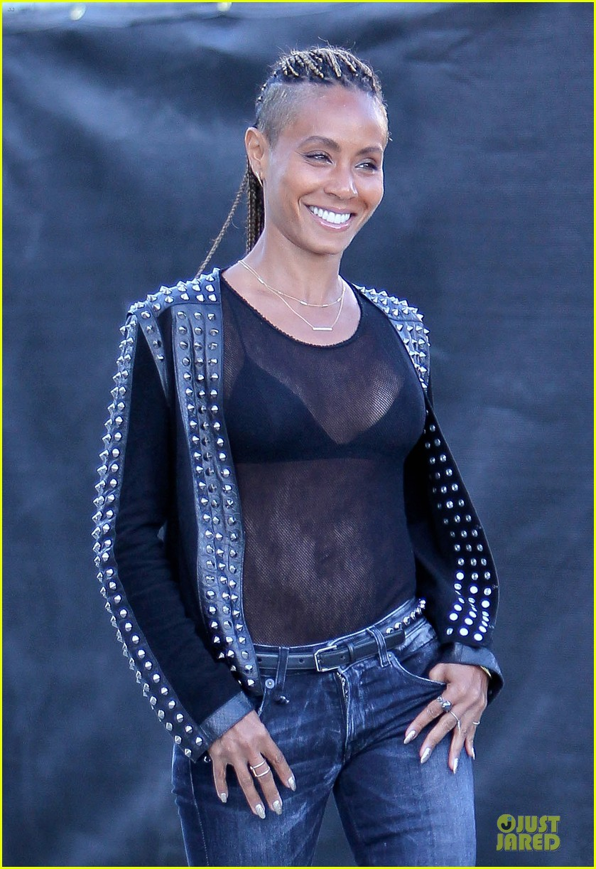 jada pinkett smith flashes black bra in sexy sheer top 123010284
