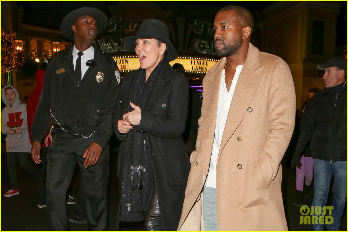 kim kardashian kanye west anchorman 2 with the family 07