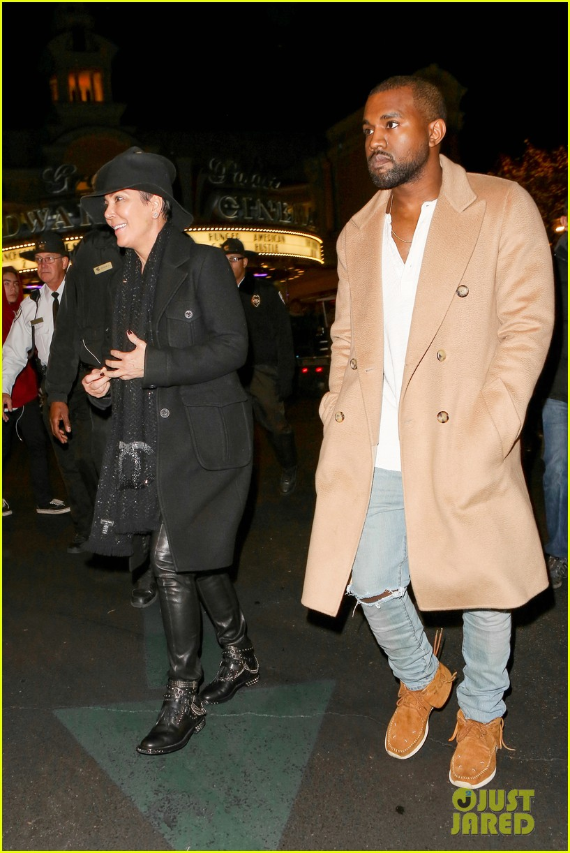 kim kardashian kanye west anchorman 2 with the family 303016056