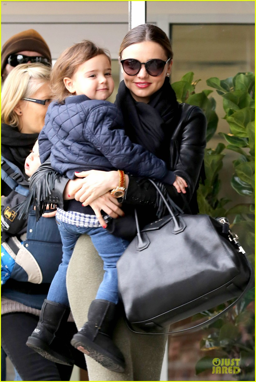 miranda kerr new years eve helicopter ride with flynn 083020594