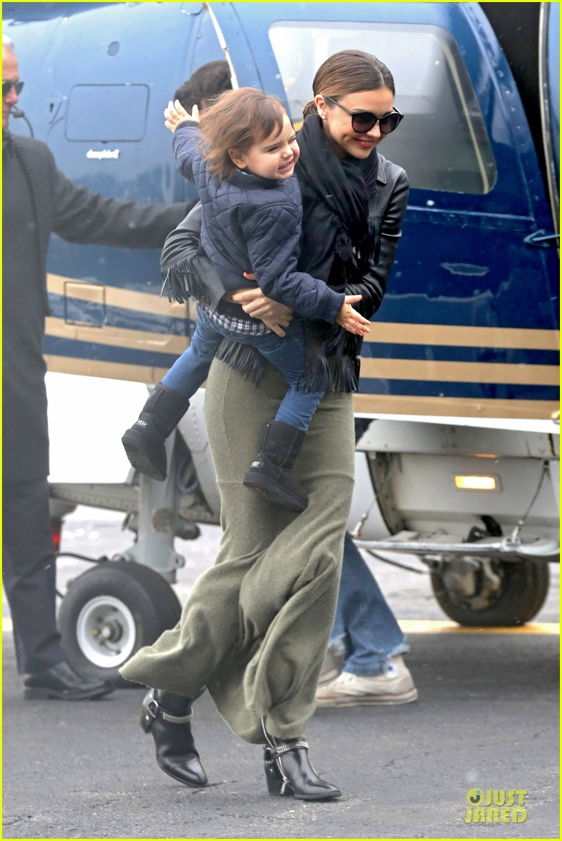 miranda kerr new years eve helicopter ride with flynn 223020608