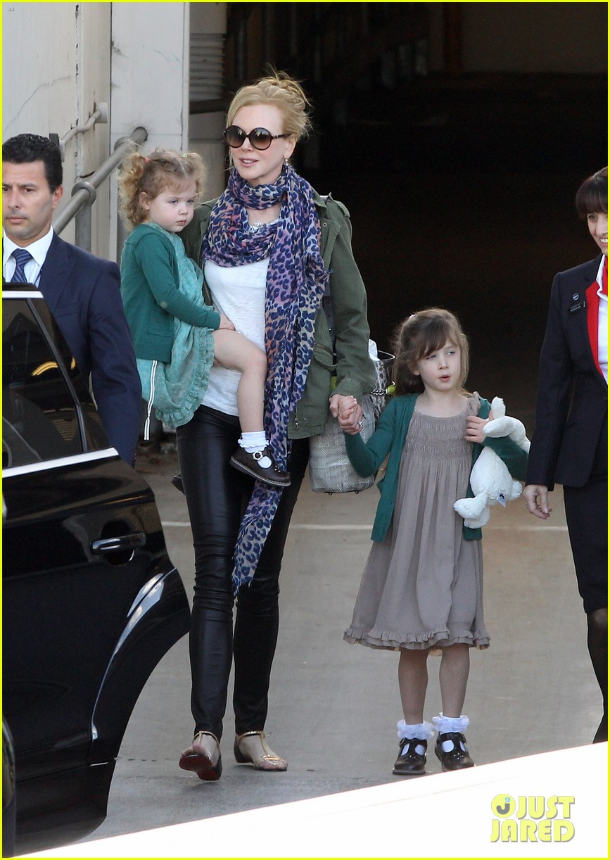 nicole kidman australia arrival with faith sunday 053014399