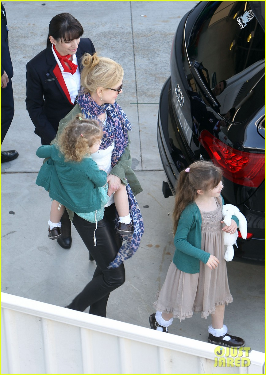 nicole kidman australia arrival with faith sunday 293014423