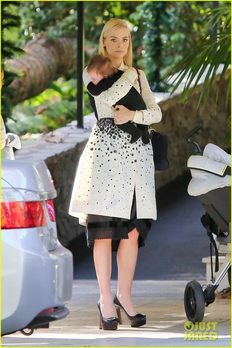 jaime king brunch date with kyle newman baby james 063019644