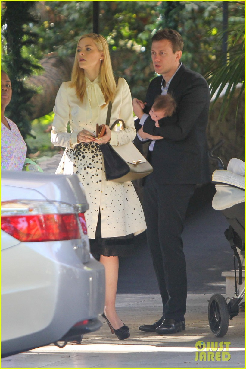 jaime king brunch date with kyle newman baby james 133019651