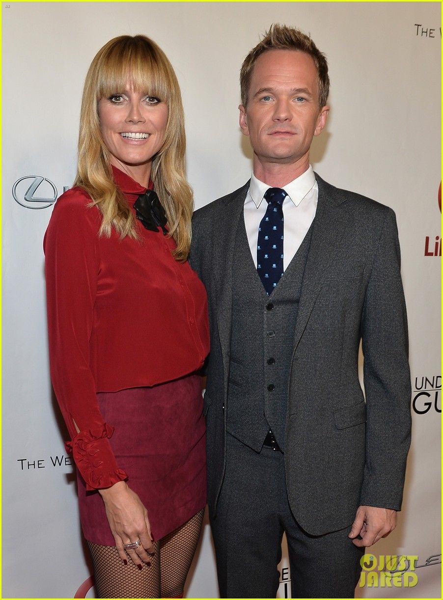 heidi klum neil patrick harris under the gunn finale fashion show 11