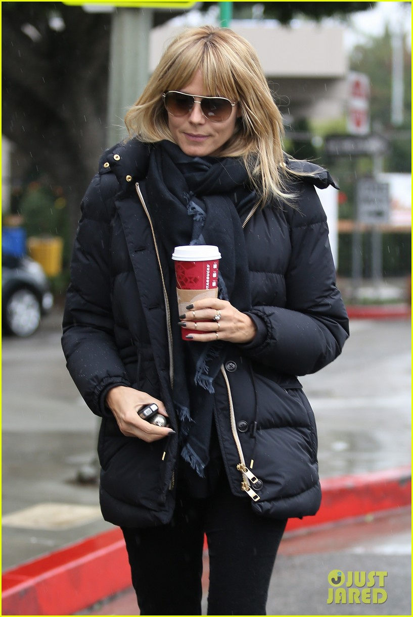 heidi klum spends weekend with her daughters 023007991