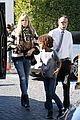 heidi klum post thanksgiving lunch with the kids 23