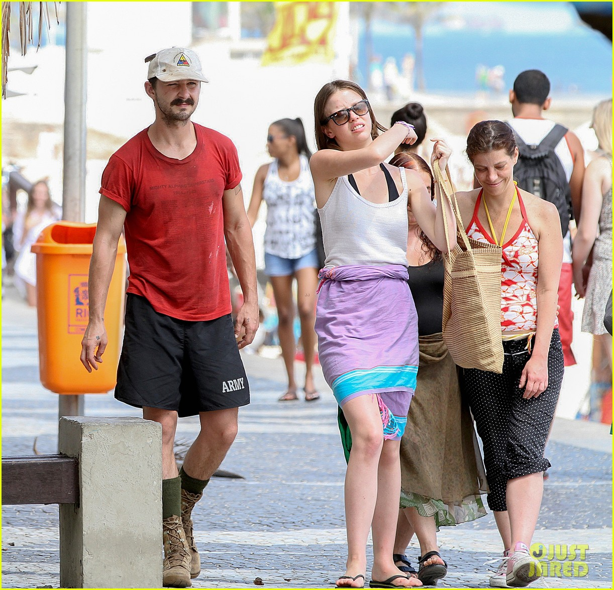 shia labeouf escapes to rio after plagiarism controversy 073018393