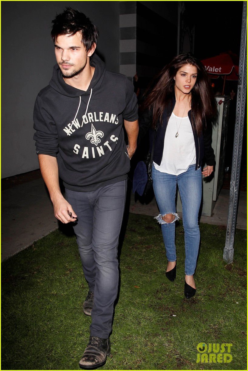 taylor lautner marie avgeropoulos acabar dinner date duo 063010638