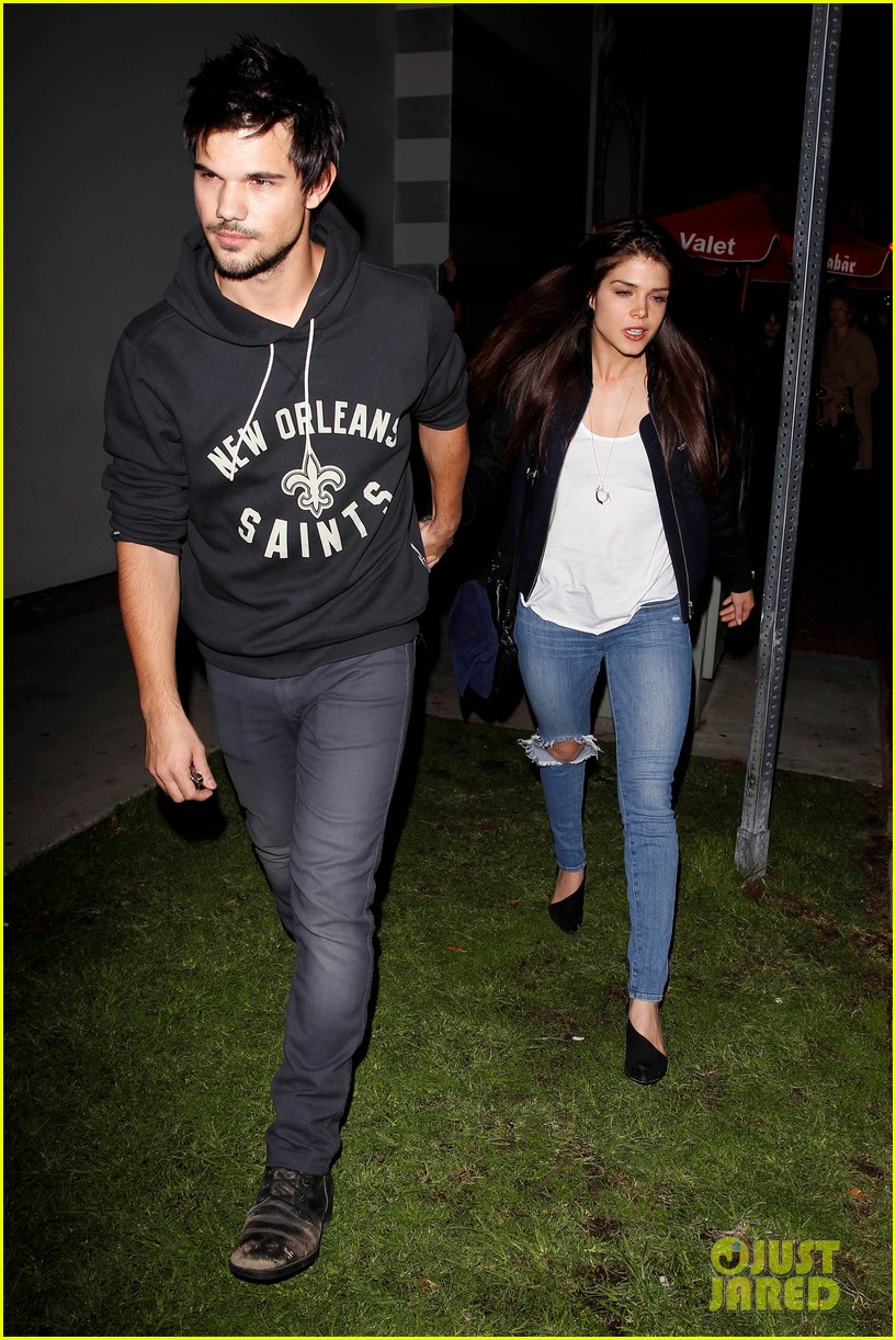 taylor lautner marie avgeropoulos acabar dinner date duo 143010646
