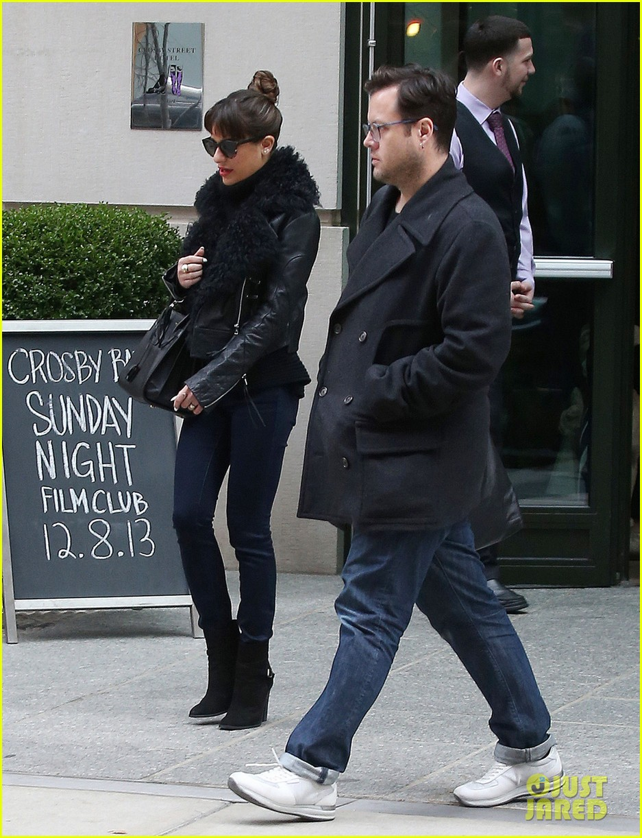 lea michele begins album promo work in nyc 043004217