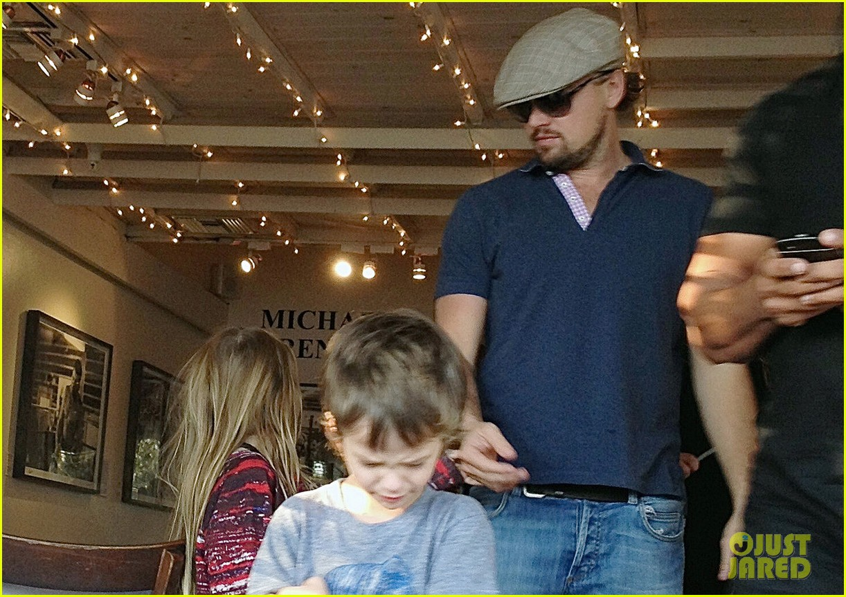 leonardo dicaprio hangs with tobey maguires kids 023016679