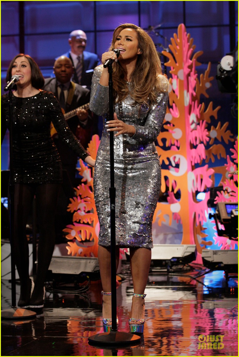 leona lewis one more sleep promo on leno 033015713