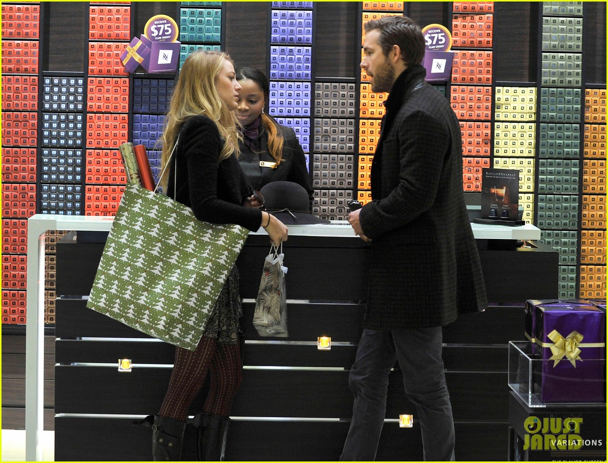 blake lively ryan reynolds shop for holiday supplies at nespresso 023011390