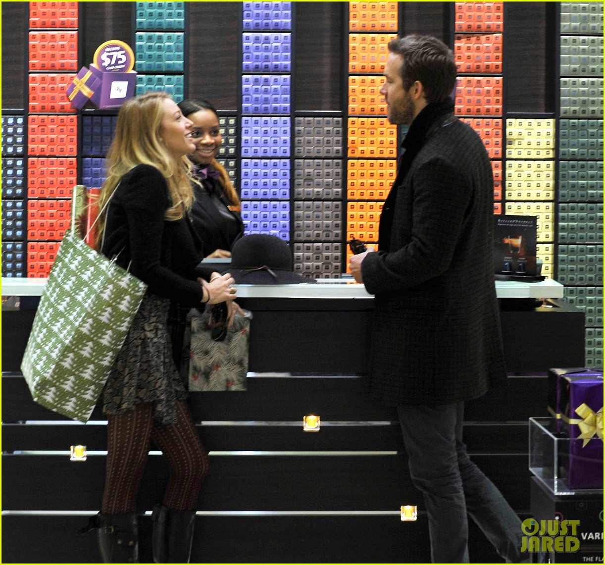 blake lively ryan reynolds shop for holiday supplies at nespresso 043011392