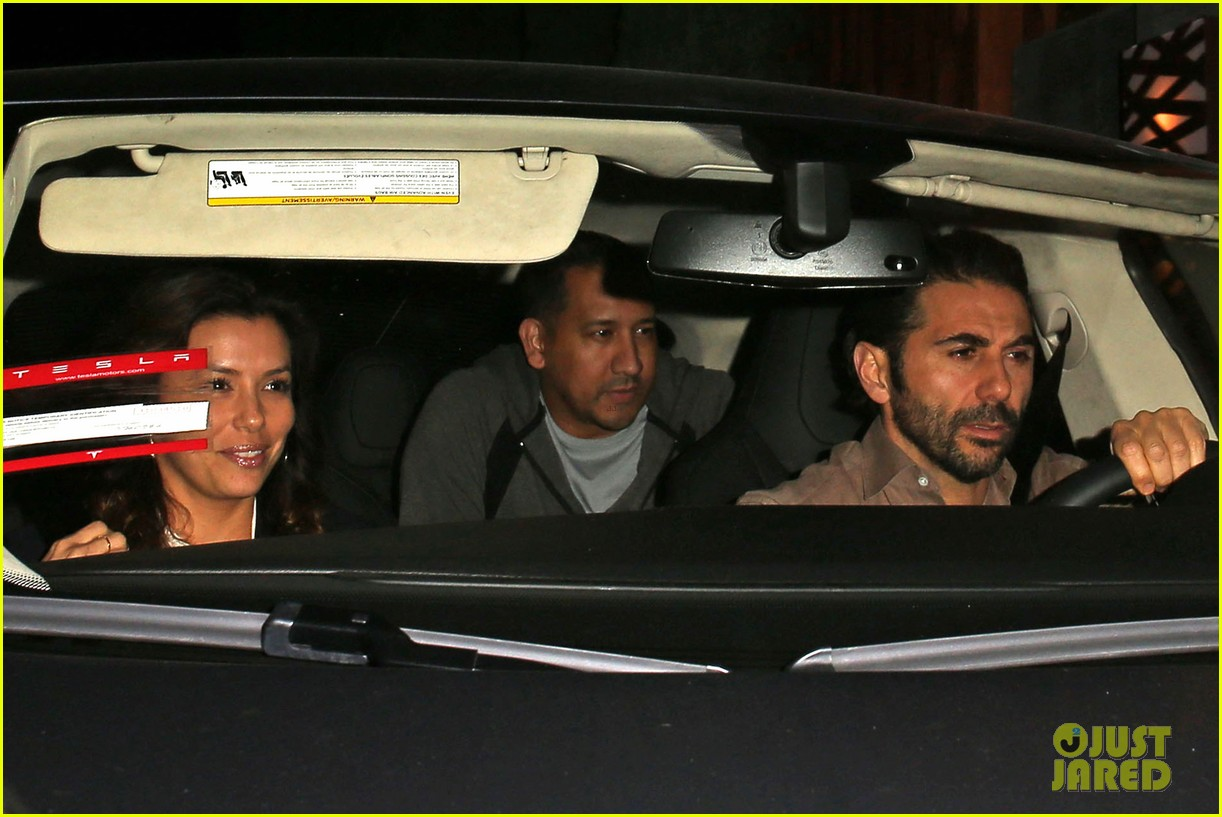 eva longoria nobu date night with jose antonio baston 083018547