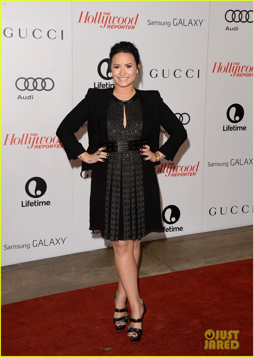 demi lovato naya rivera thr breakfast babes 013009945