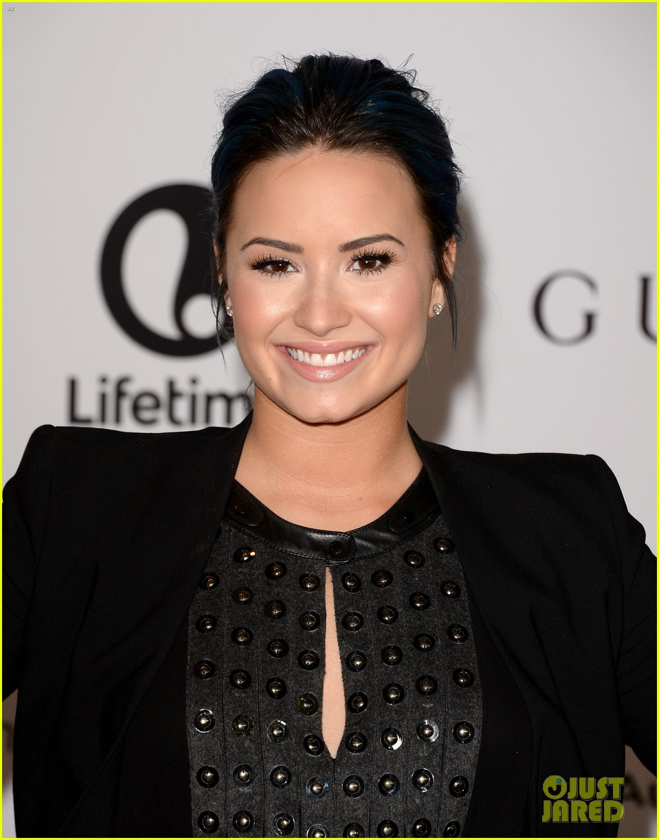 demi lovato naya rivera thr breakfast babes 073009951