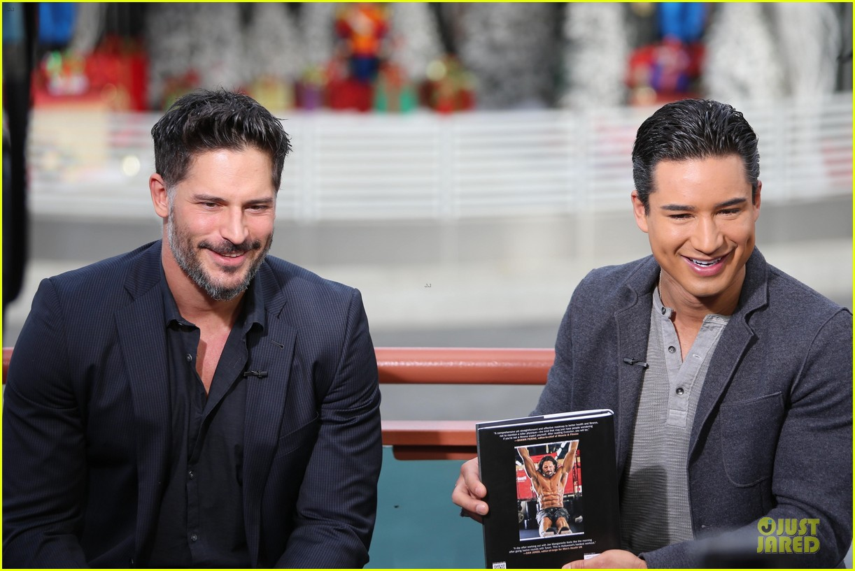 joe manganiello evolution promo on extra appearance 06