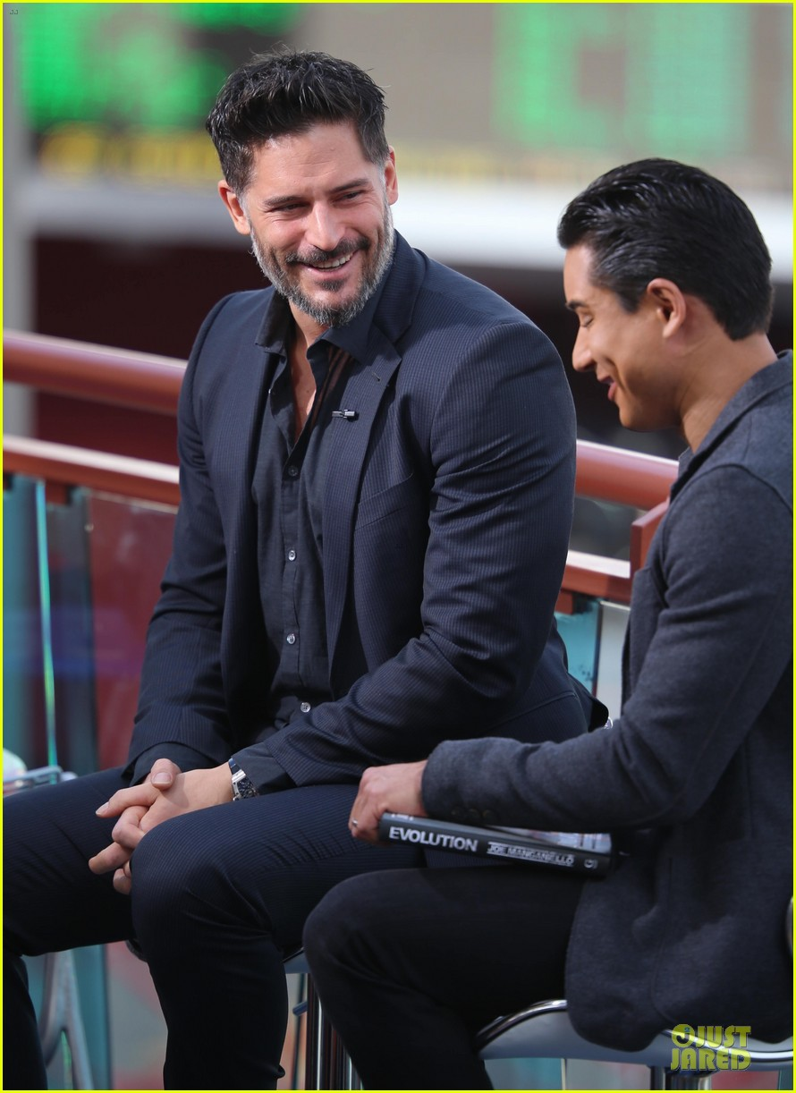 joe manganiello evolution promo on extra appearance 083013278