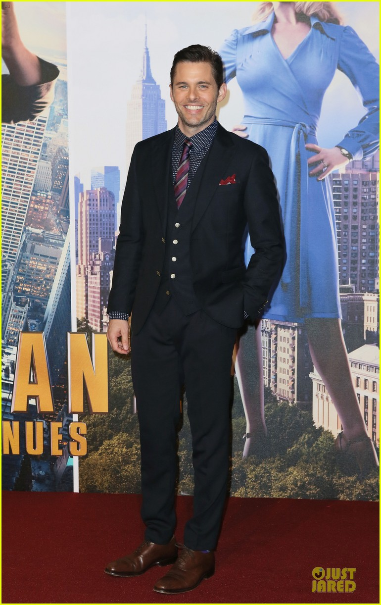 james marsden will ferrell anchorman 2 london premiere 18