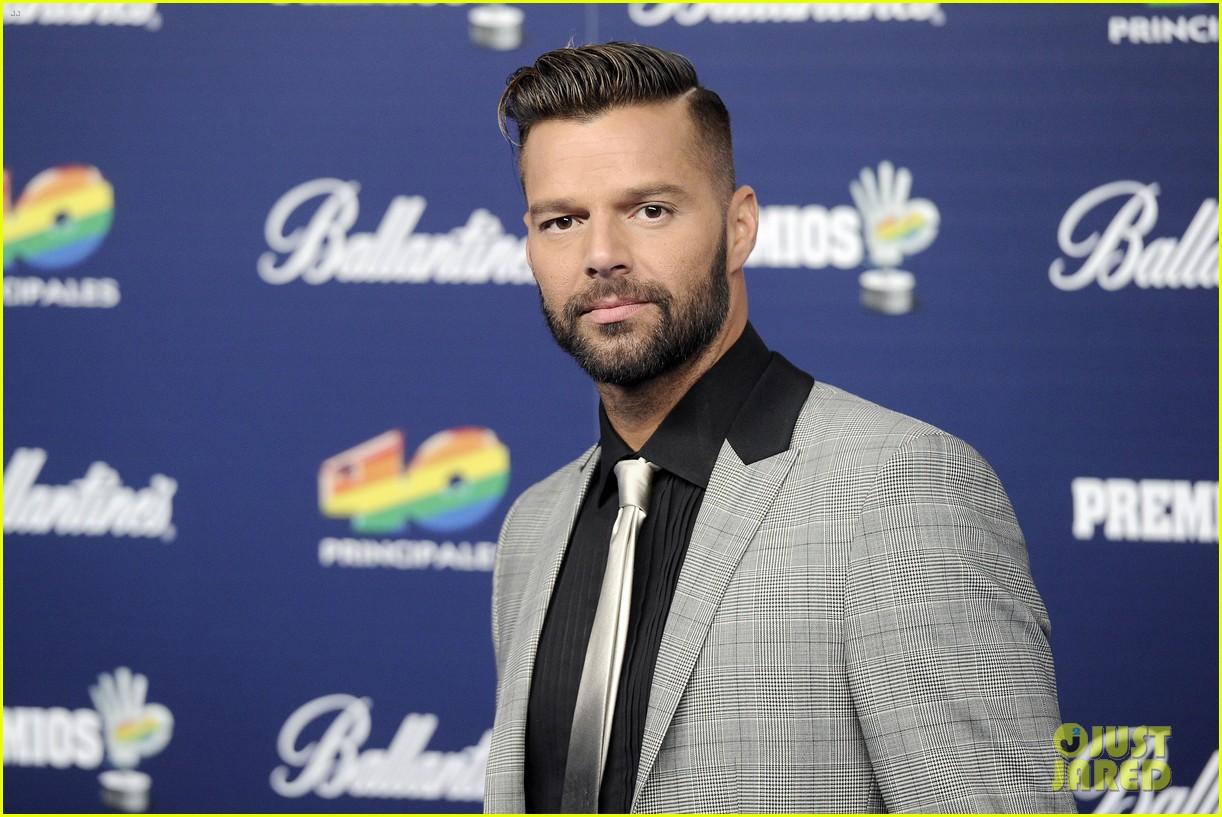 Ricky Martin Haircut 2013