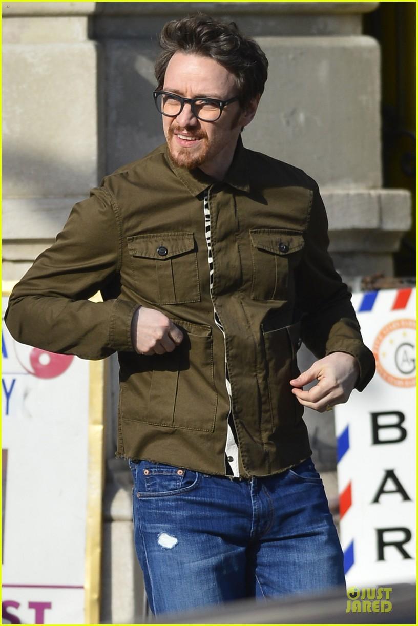 james mcavoy wraps weekend with eyeglasses 043015719