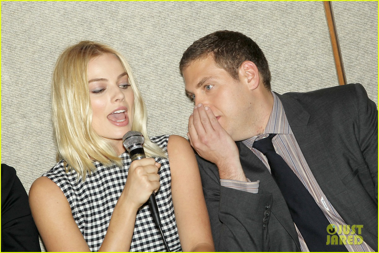 matthew mcconaughey wolf of wall street luncheon with margot robbie 353014601