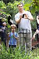 matthew mcconaughey family zoo trip in brazil 06