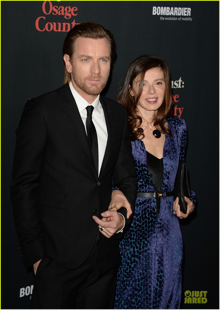 ewan mcgregor dermot mulroney august osage county la premiere 083013413