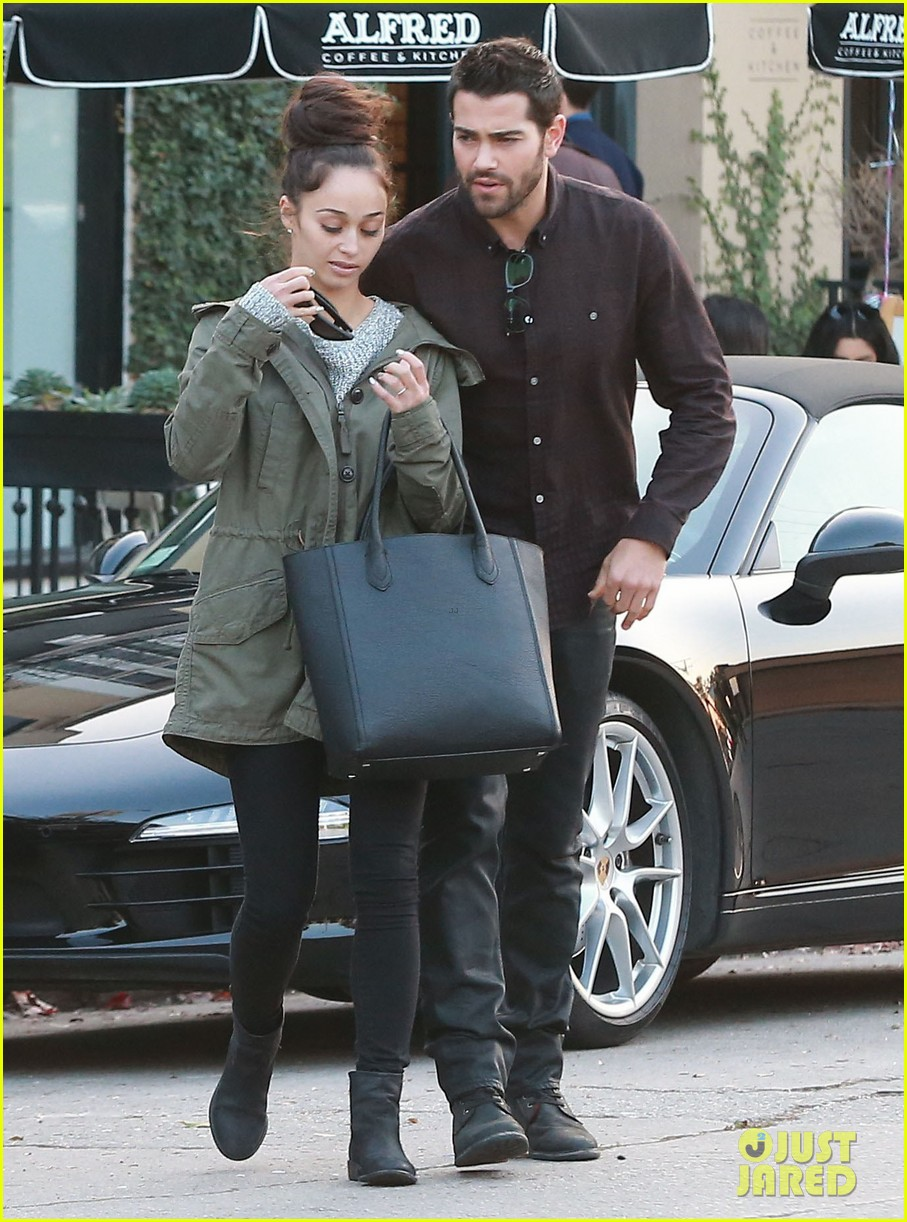jesse metcalfe cara santana lunch with the jew crew 163016136