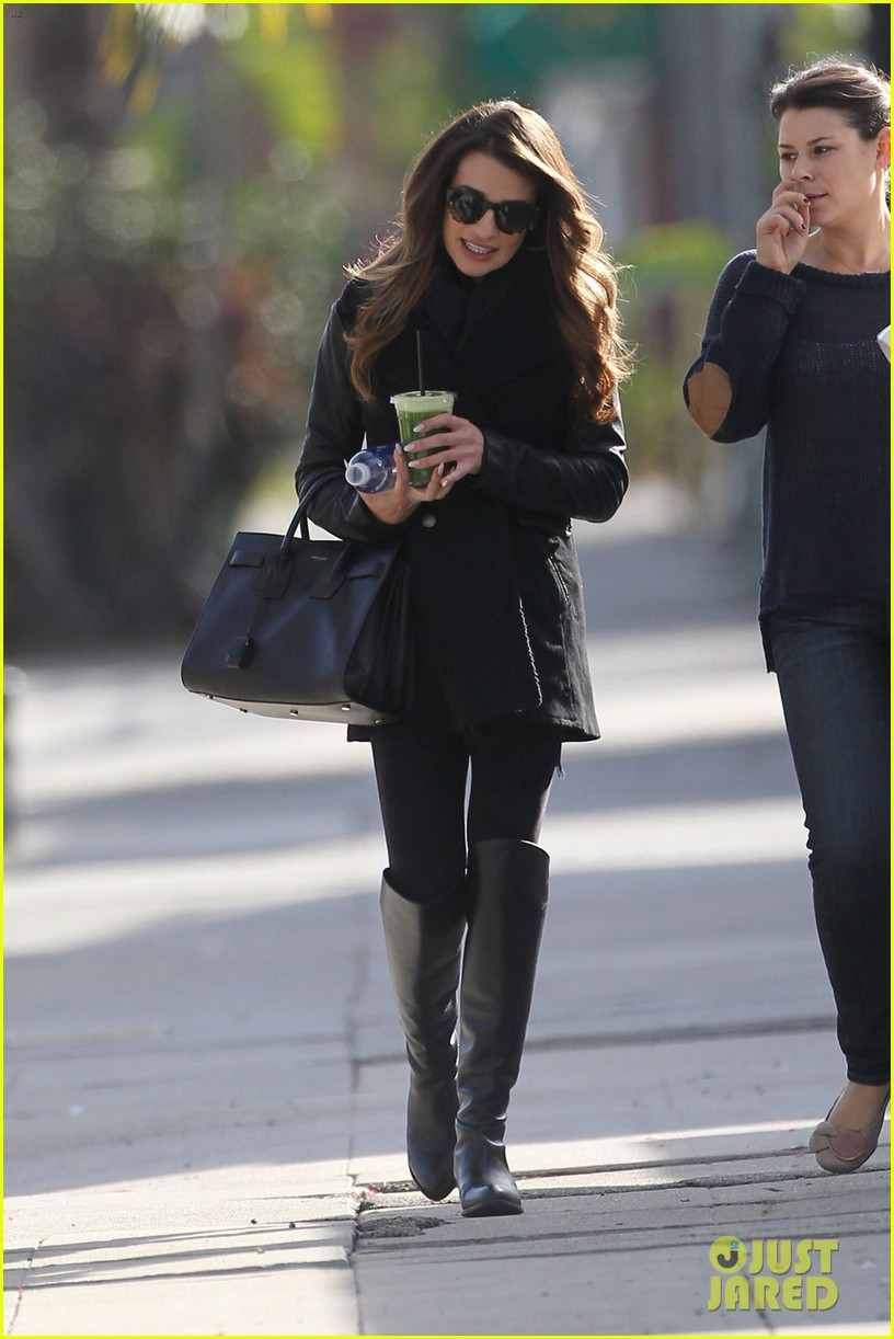 lea michele cannonball makes radio debut with elvis duran 013012915