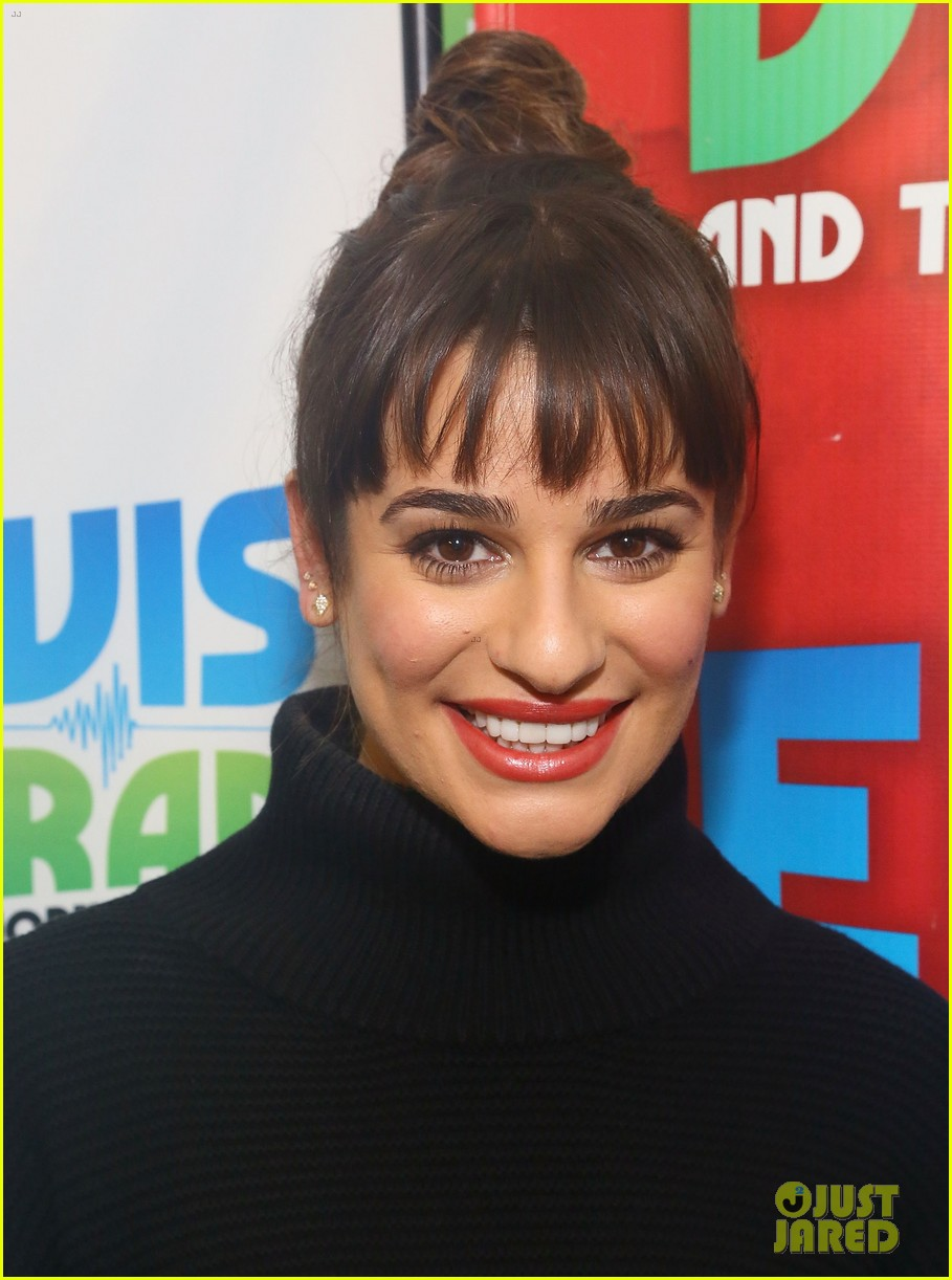 lea michele cannonball makes radio debut with elvis duran 043012918