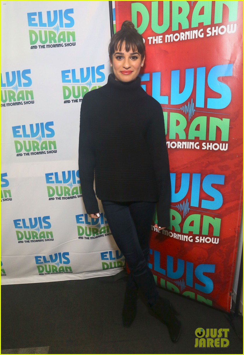 lea michele cannonball makes radio debut with elvis duran 053012919