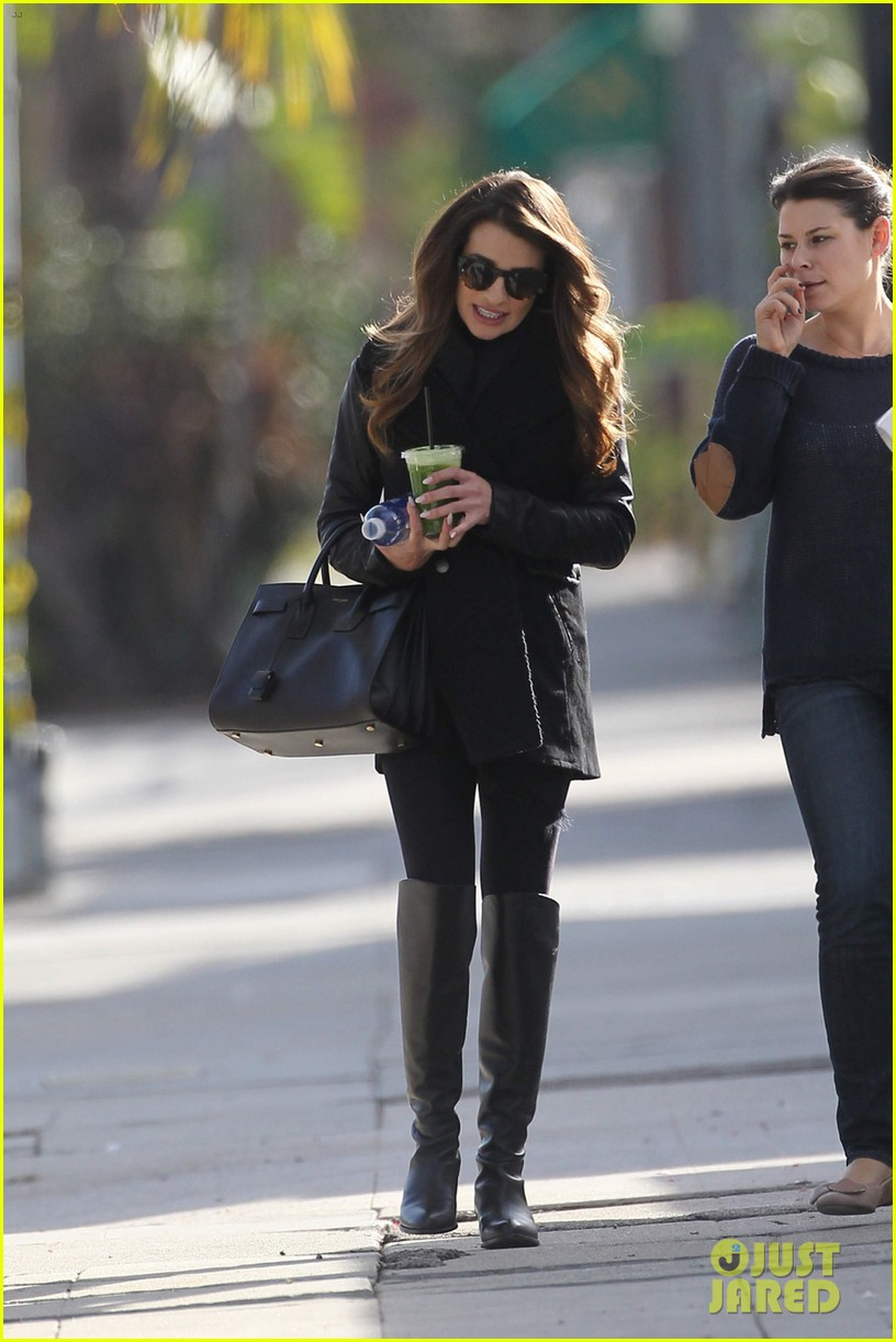 lea michele cannonball makes radio debut with elvis duran 063012920