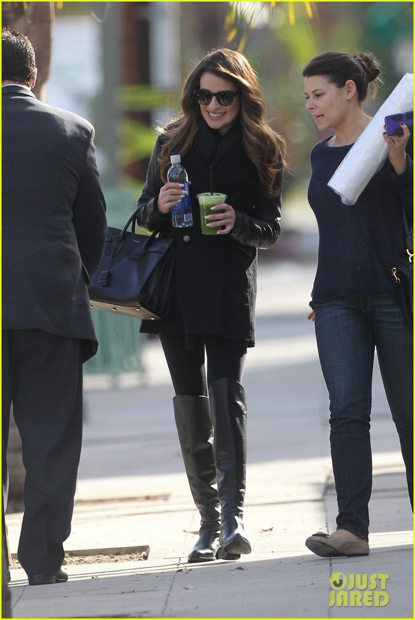 lea michele cannonball makes radio debut with elvis duran 113012925