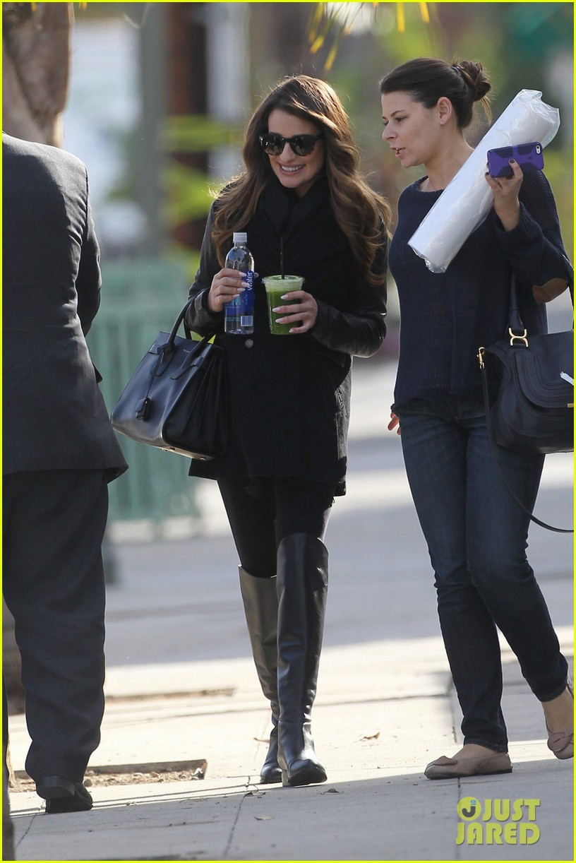 lea michele cannonball makes radio debut with elvis duran 123012926