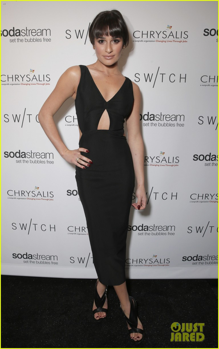 lea michele naya rivera switch boutique holiday party 01
