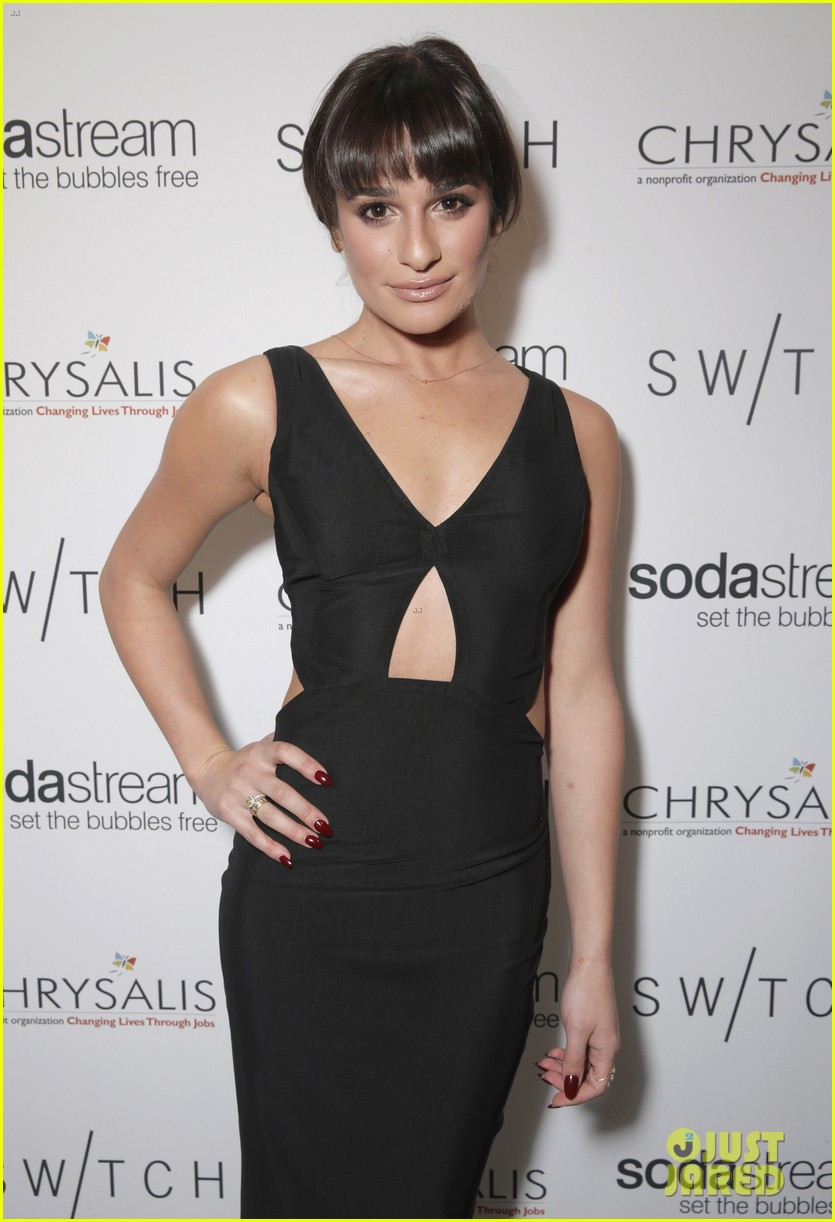 lea michele naya rivera switch boutique holiday party 153012375