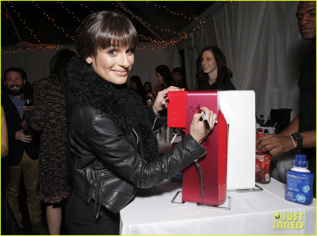 lea michele naya rivera switch boutique holiday party 163012376