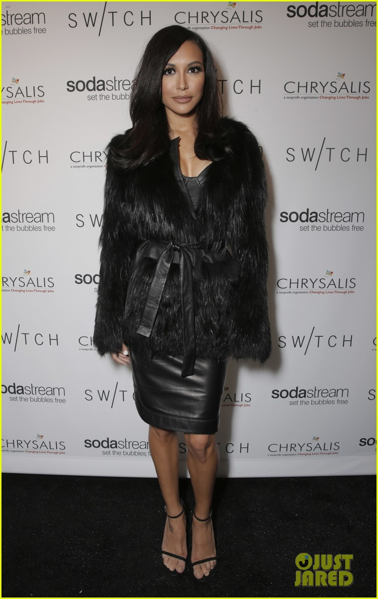 lea michele naya rivera switch boutique holiday party 183012378