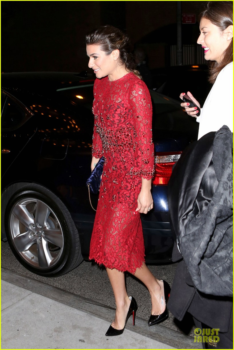 lea michele red hot at loreal paris women of worth 053004545