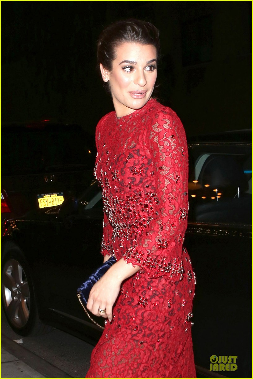 lea michele red hot at loreal paris women of worth 063004546