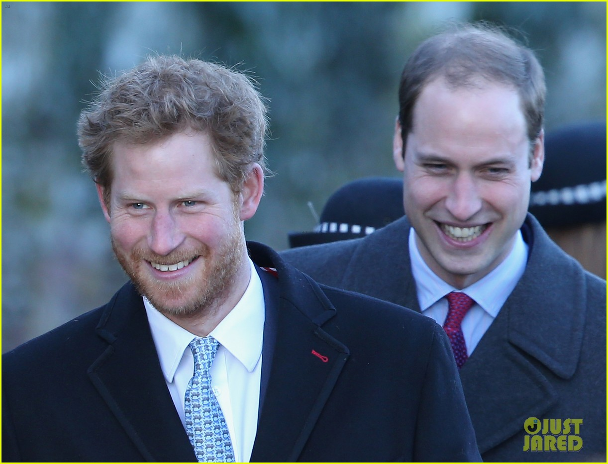 kate middleton prince william christmas day service with prince harry 04